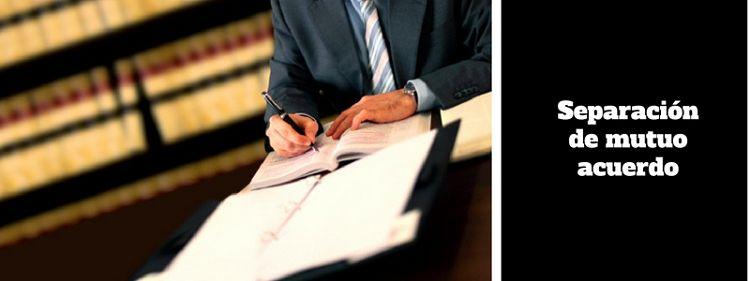 Separación de mutuo acuerdo ante notario